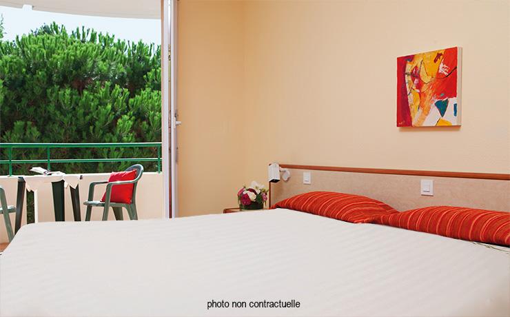 chambre twin PMR village vacances pornichet