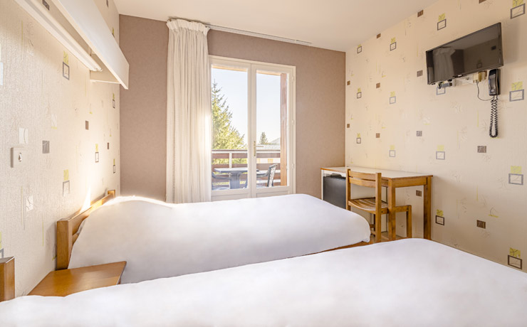 chambre twin village vacances murol 2