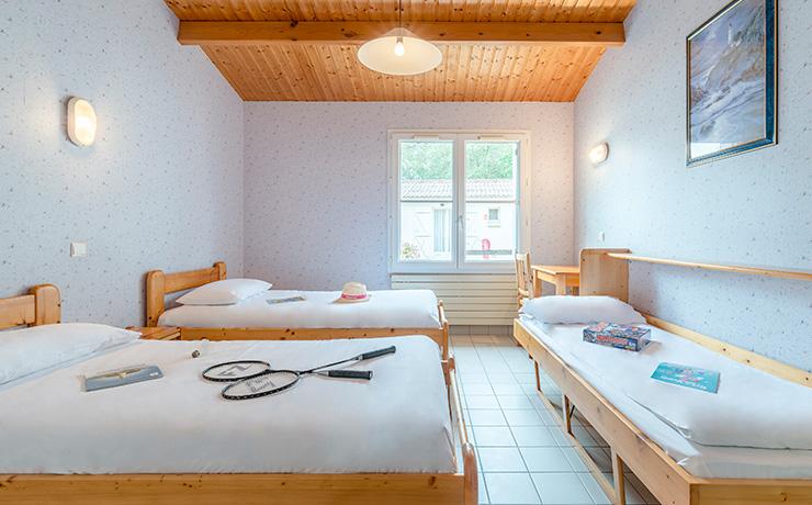 chambres communicantes 6p 2twin litdappoint village vacances longeville chambre