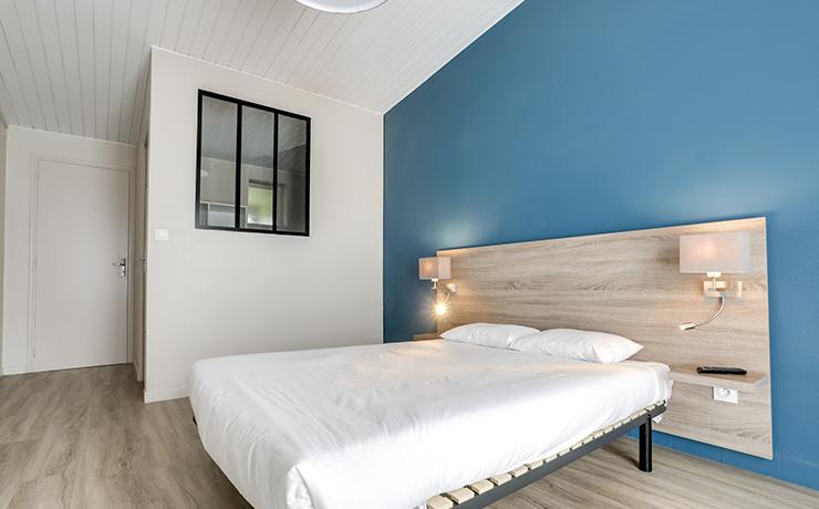 chambre double village vacances hauteville sur mer