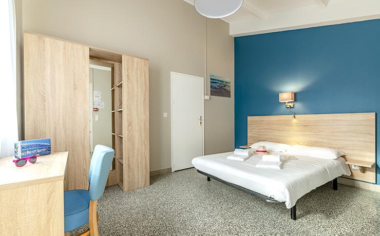 chambres communicantes 7p village vacances ile d oleron lit double