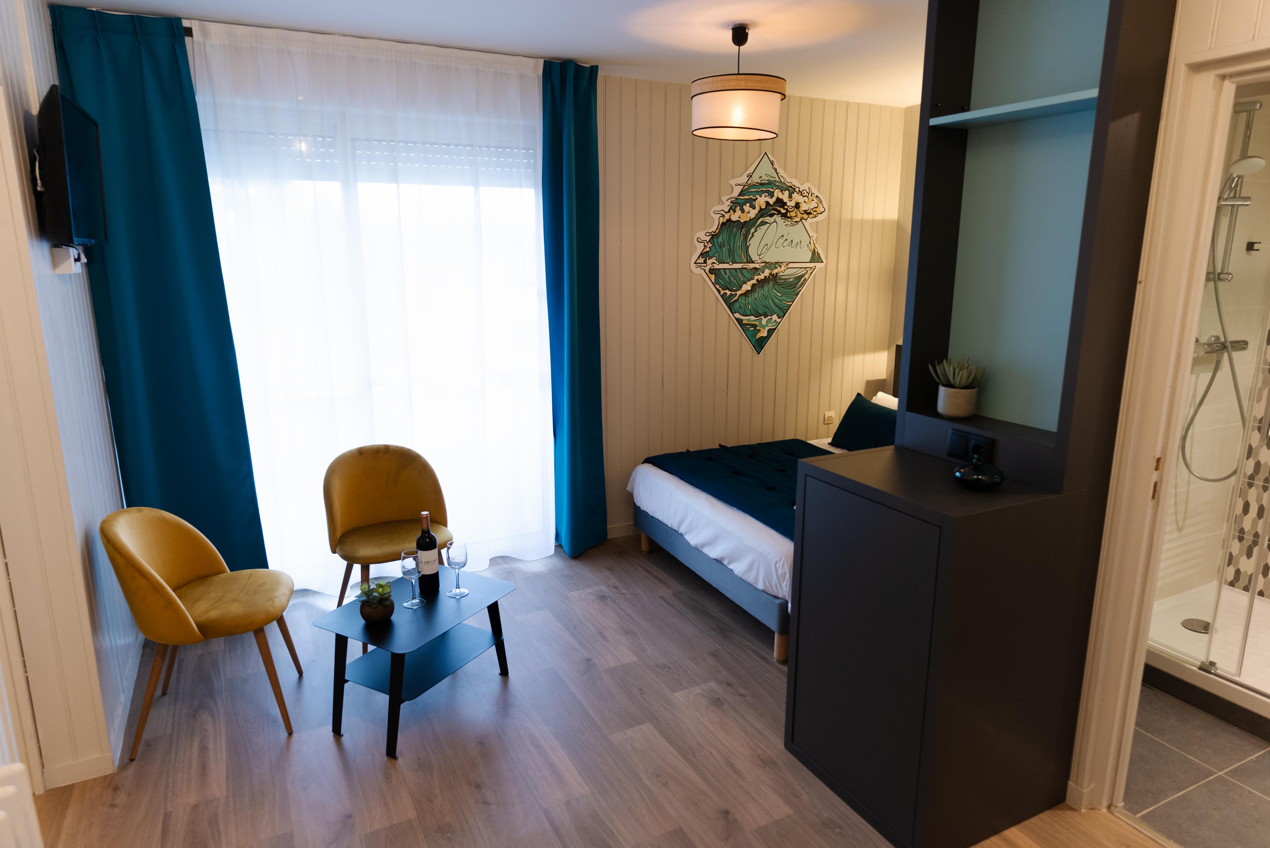 chambre logement 2 ch 4 p village vacances lacanau