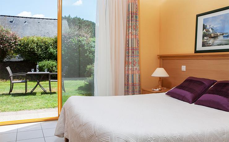 chambres communicantes 7p village vacances tregunc