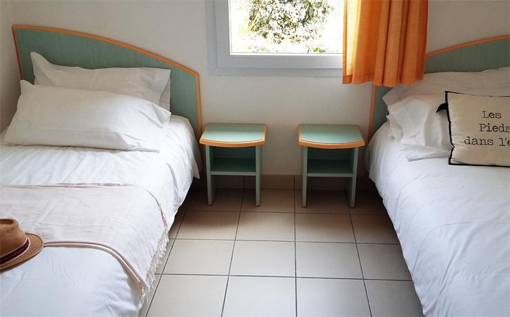 chambre2 3 pieces 4 personnes village vacances fouras