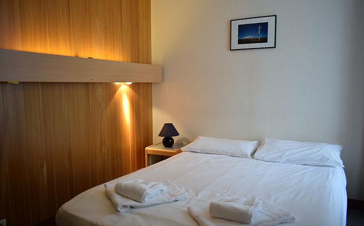 chambre double PMR village vacances areches