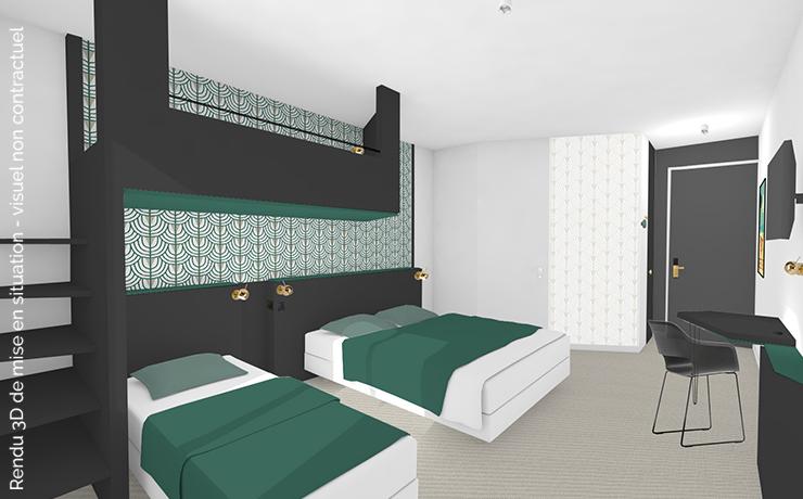 Chambre type 2