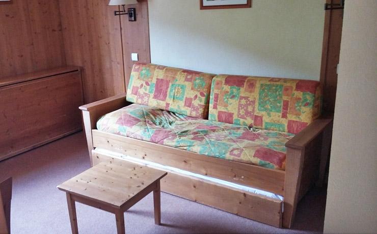 logement 2 chambres 4 personnes village vacances la clusaz