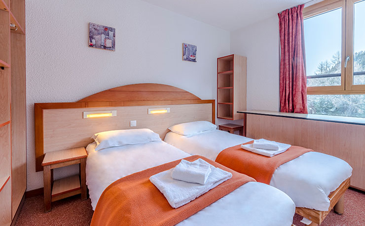 chambre communicante 4 pers village vacances areches