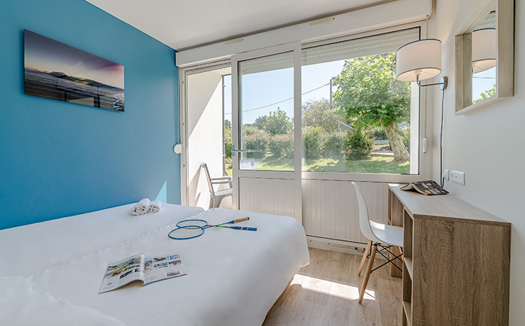 chambre twin village vacances anglet
