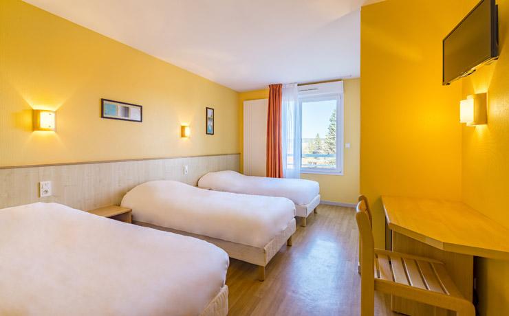 chambre triple village vacances metabief 2