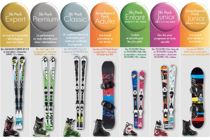 soski location de materiel de ski